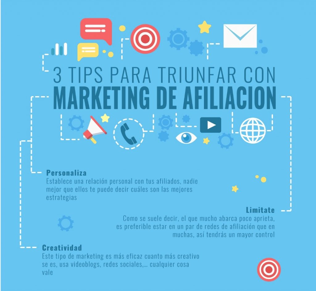 3 tips para triunfar con marketing de afiliación